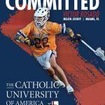 Belen Jesuit 2021 Victor Rosado Commits to Catholic University!