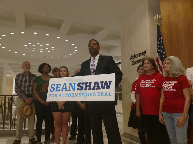 Sean Shaw at the Capitol on Friday