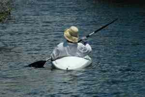 Kayaking on South Creek at Oscar Scherer State Park