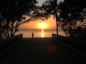 Lovers Key sunset