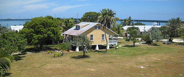 Pigeon Key, as viewed from the old bridge