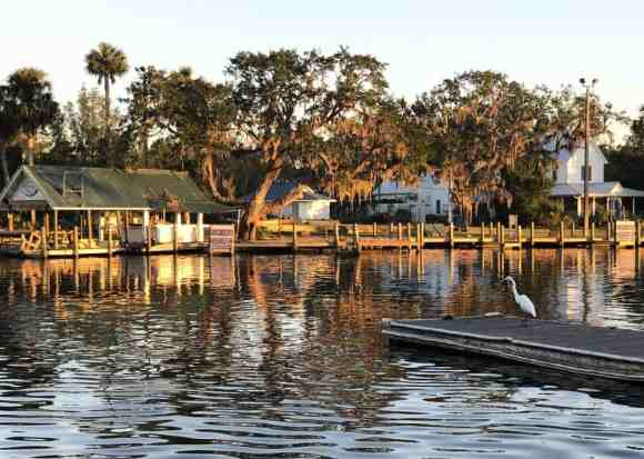 Old Florida scene in Homosassa. (Photo: Bonnie Gross)