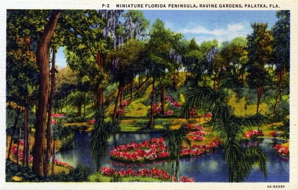 Azalea Gardens At Ravine Gardens State Park Palatka Florida Florida Rambler