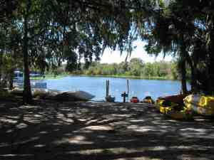 Kayak Launch and Concession at Blue Spring State Park