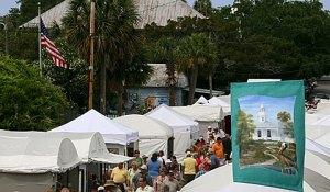 Cedar Key art festival