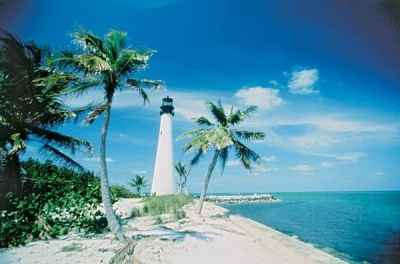 Cape Florida Lighthouse at Cape Florida State Park, Key Biscayne