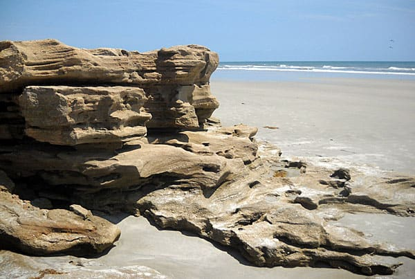 Washington Oaks Gardens, Flagler County: Beach with