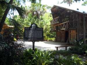 The historic buildings at McKee Botanical Gardens, Vero Beach