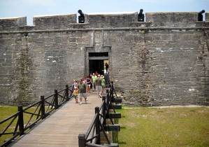 St. Augustine fort entrance