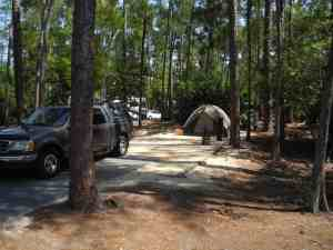 Campsite at Fort Wilderness, Disney World