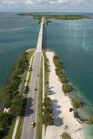 Overseas Highway in the Florida Keys