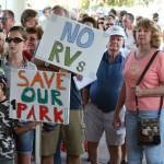 Honeymoon Island protest