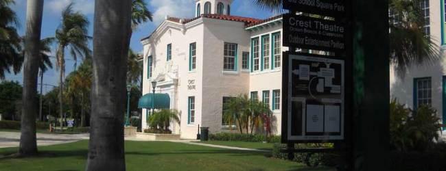 Historic Old School Square in Delray Beach
