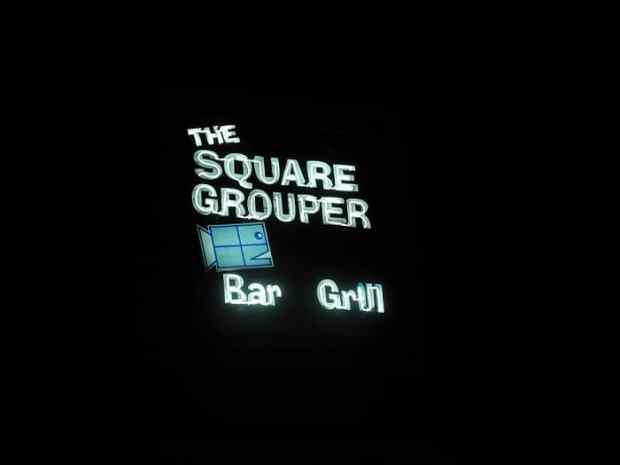 The Square Grouper Bar and Grill on Cudjoe Key