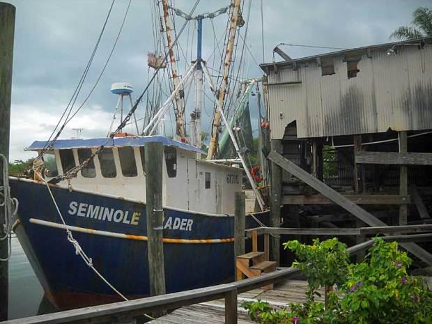 Near Punta Gorda, the fishing community of Placida