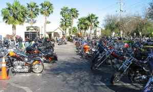 Pub 44 in New Smyrna Beach during Bike Week