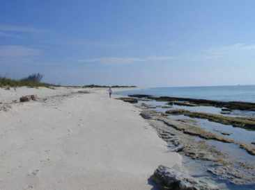 The beach at Loggerhead Key in the Dry Tortugas