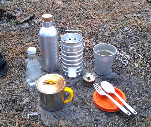 Cooking gear for backpacking