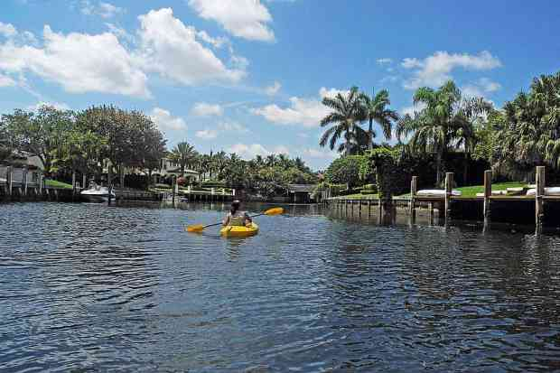 Royal Palm Yacht and Country Club canal