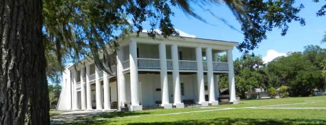 Gamble Mansion in Ellenton, Florida