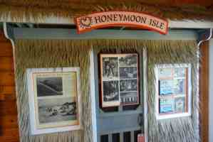 Honeymoon Island, Dunedin exhibit
