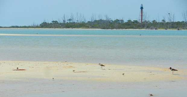Anclote Key and lighthouse