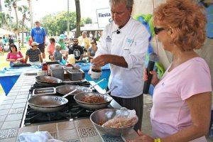 Chef Dan Dunn at the Pensacola Seafood Festival