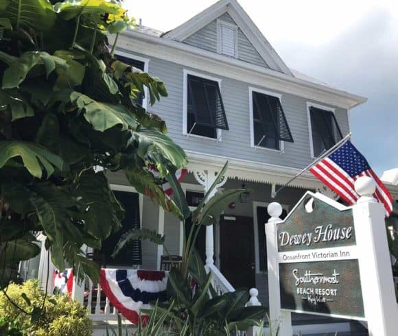 The Dewey House near the southernmost point is an interesting stop on the historic walking tour. (Photo: Bonnie Gross)