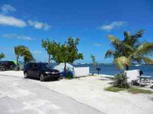Tent sites at Boyd's Key West Campground