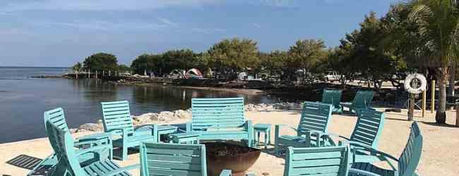 "Fire pit on the ""sun beach"""
