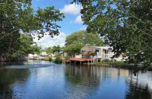 Canal at Leo's Campground Key West