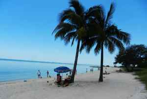Sombrero Beach in Marathon in the Florida Keys.