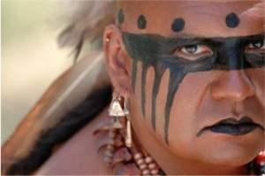 Cherokee dance group Warriors of AniKituhwa.