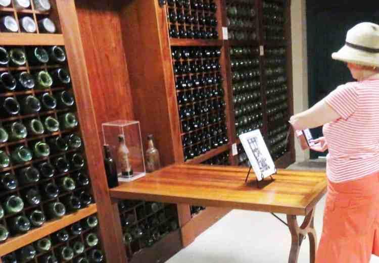 The Prohibition Era wine cellar at Deering Estate