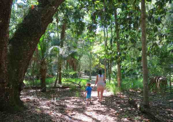 Take a short leg-stretcher or try a long hike. Either one is a good option at Bulow Plantation Ruins Historic State Park in Flagler County.