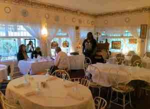 Cauley Square Tea Room in the Redland.
