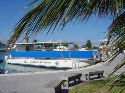 Tour boat, Biscayne National Seashore