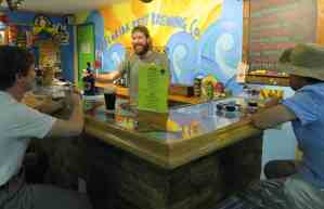 Taproom at Florida Keys Brewing Company in Islamorada