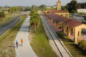 venice train depot legacy trail