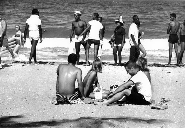 "fort lauderdale beach ""wade-in"" 1961"
