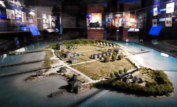 Model of Indian Key during its heyday. Located at Florida Keys History and Discovery Center. (Photo: Florida Keys History and Discovery Center.)