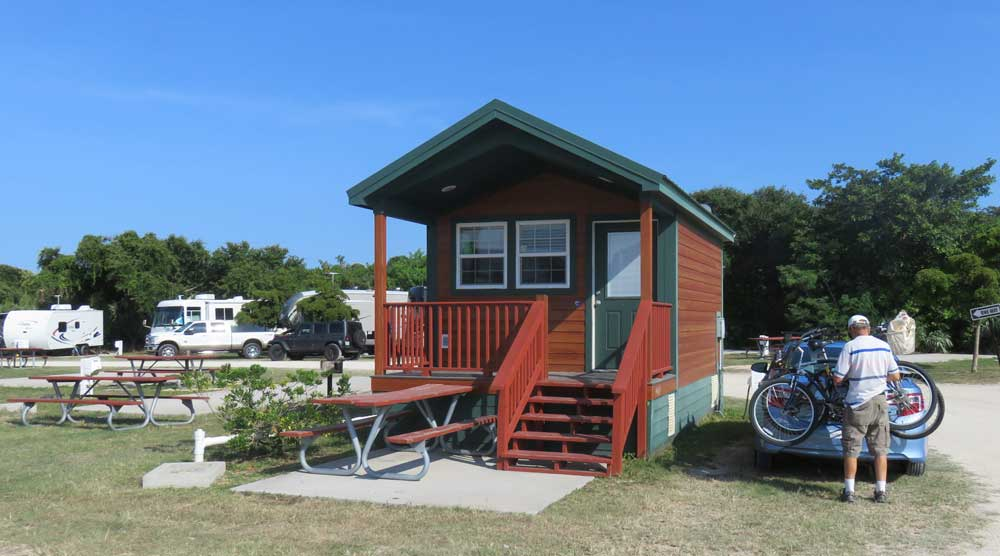 Jetty park beachfront cabins camping in cape canaveral for Camp sites with cabins