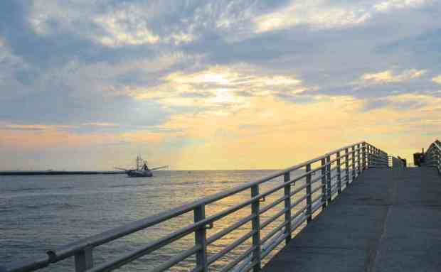 The jetty at Jetty Park in Cape Canaveral at dawn. (Photo: Bonnie Gross)