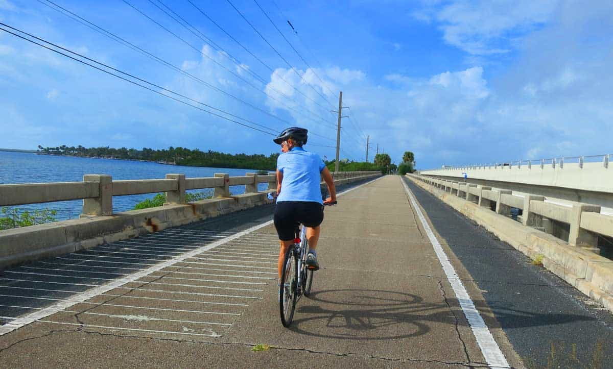 Biking to key west florida keys overseas heritage trail for Key west bike trails