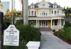 Burroughs Home and Gardens, a historic site you can tour along the Caloosahatchee in Fort Myers.