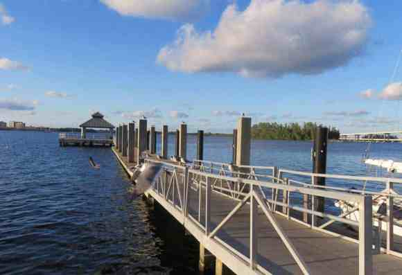 Riverfront in Fort Myers.