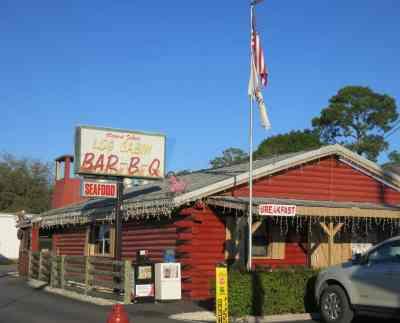 Log Cabin Bar-B-Q in LaBelle.