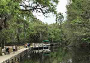 The dock at Lake Griffin State Park in Fruitland. (Photo: Bonnie Gross)