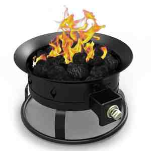 Elite Flame Steel Propane Fire Pit