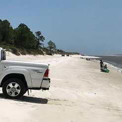 beach at amelia island
